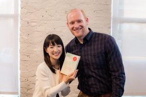 Tidy Tim trained with Marie Kondo to become a Certified Konmari Consultant